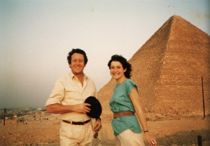 At the pyramids for my 18th birthday