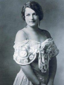 black and white photo of Nelle Tritton