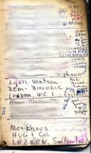 old address book